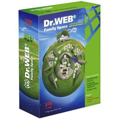 Антивирус Dr.WEB Family Space BFW-W12-0003-1