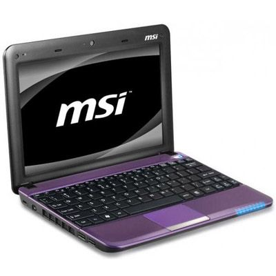 Ноутбук MSI Wind U135DX-2634 Purple