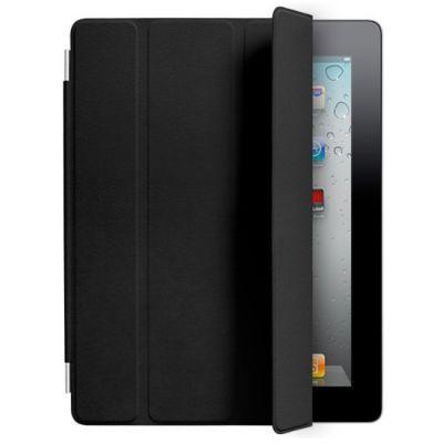 Чехол Apple для iPad2 Smart Cover Leather Black MC947