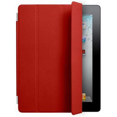 Чехол Apple для iPad2 Smart Cover Leather Red MC950