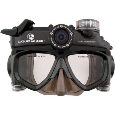 Liquid Image Подводная видео-маска LIC319 Wide Angle Scuba Series HD720P - Large Size