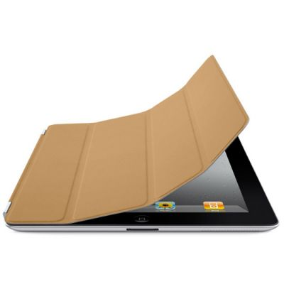Чехол Apple для iPad2 Smart Cover Leather Tan MC948