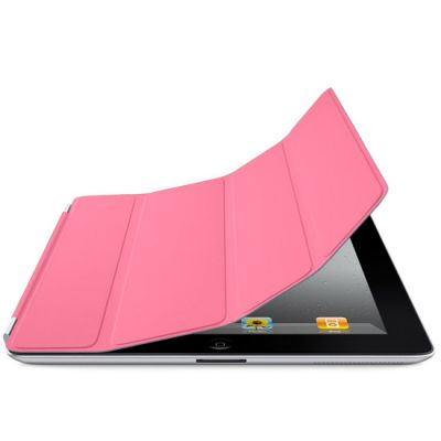 ����� Apple ��� iPad2 Smart Cover Polyurethane Pink MC941