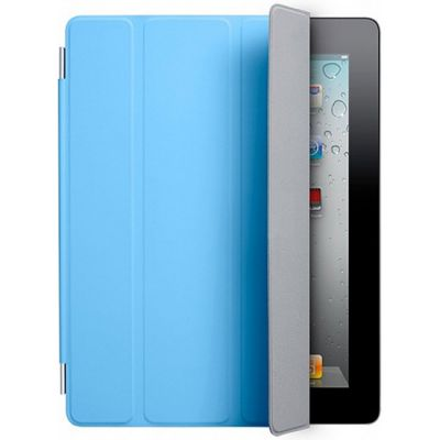Чехол Apple для iPad2 Smart Cover Polyurethane Blue MC942