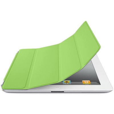 Чехол Apple для iPad2 Smart Cover Polyurethane Green MC944