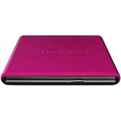 Samsung ������� ������ DVD-RW tray ext. USB2.0 Pink Slim Super Multi SE-S084D/TSPS