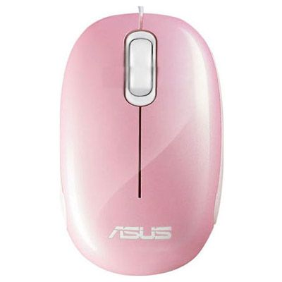 Мышь проводная ASUS Seashell Optical USB Pink 90-XB0800MU000C0-