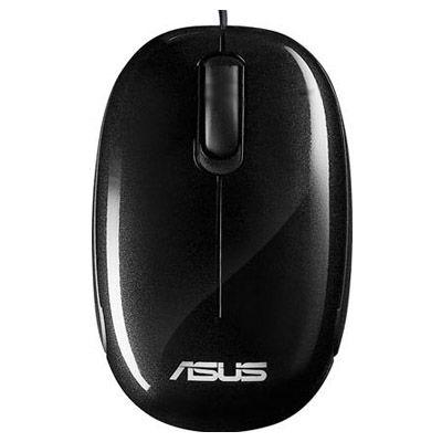 Мышь проводная ASUS Seashell Optical USB Black 90-XB0800MU000A0-