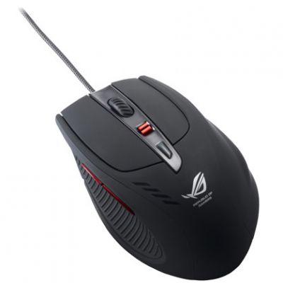 Мышь проводная ASUS GX900 Laser Gamer USB Black 6 buttons 90-XB1900MU00100-