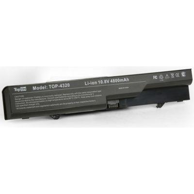 Аккумулятор TopON для HP 425 4320t 625 ProBook 4320s 4321s 4325s 4326s 4420s 4421s 4425s 4520s 4525s Compaq 320 321 325 326 420 421 620 621 Series 4400 mAh TOP-4320