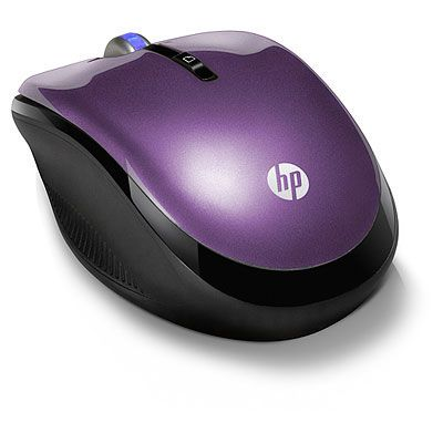 ���� ������������ HP 2.4GHz Wireless Optical Mouse Sweet Purple LY785AA