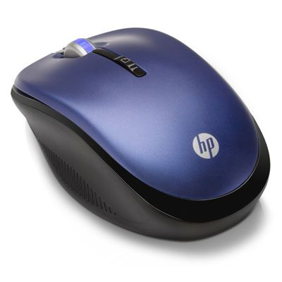 ���� ������������ HP 2.4GHz Wireless Optical Mouse Pacific Blue LX731AA