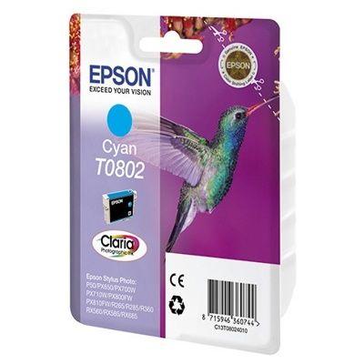 Картридж Epson Cyan/Голубой (C13T08024010)
