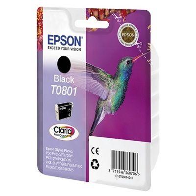 Расходный материал Epson Картридж черного цвета C13T08014010