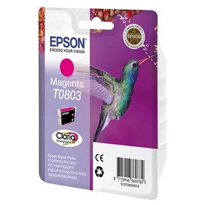 Расходный материал Epson Картридж пурпурного цвета C13T08034010