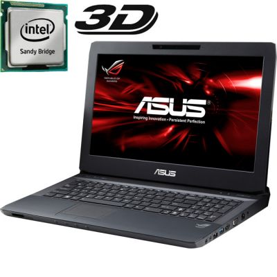 Ноутбук ASUS G53Sx i7-2630QM Windows 7 90N7CL412W31B5VD63AY