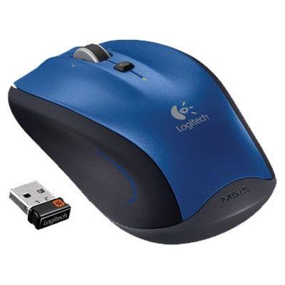 Мышь беспроводная Logitech M515 Blue 910-002097
