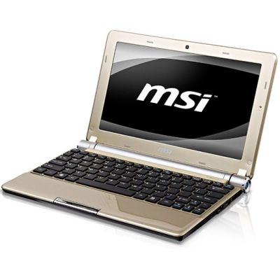 Ноутбук MSI Wind U160DX-621 Gold