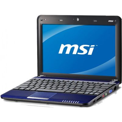 Ноутбук MSI Wind L1350D-2448 Blue