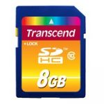 Карта памяти Transcend 8GB Secure Digital hc class 10 TS8GSDHC10