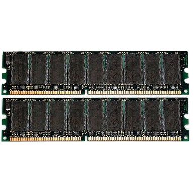 Оперативная память HP 1GB Fully Buffered DIMMs PC2-5300 2 x 512 Mb memory Kit 397409-B21