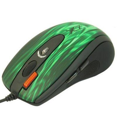 ���� ��������� A4Tech XL-750BK USB (GREEN FIRE) 3-Fire Extra High Speed Oscar Editor Laser