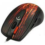 Мышь проводная A4Tech XL-750BK USB (RED FIRE) 3-Fire Extra High Speed Oscar Editor Laser