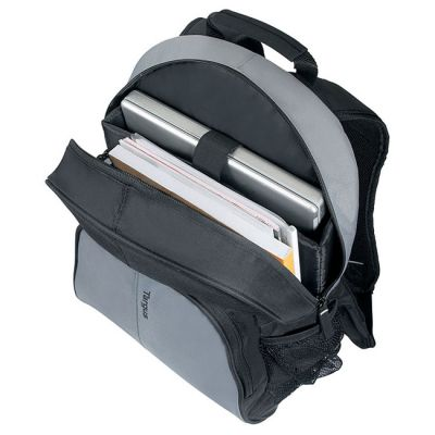 "������ Targus Essential Notebook Backpack 15.4"" / 16"" Black & Gray TSB023EU"