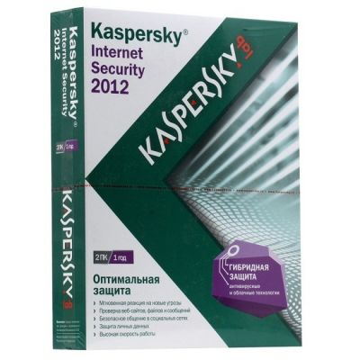 Антивирус Kaspersky Internet Security 2012 Russian Edition. 2-Desktop 1 year Renewal Box KL1843RBBFR