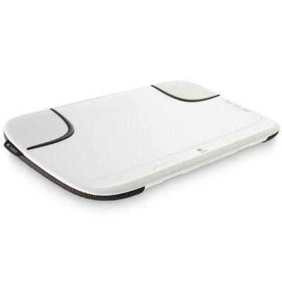 Охлаждающая подставка Logitech Lapdesk Speaker N550 White 939-000321