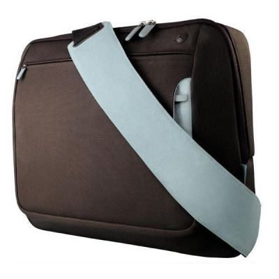 "Сумка Belkin Messenger Bag Chocolate/Tourmaline 15,6"" F8N244eaRL"