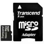 ����� ������ Transcend 16GB microSDHC class4 � ��������� sd TS16GUSDHC4