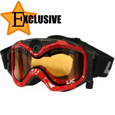 Liquid Image Комплект Морозостойкая видео-маска LIC335R (c янтарной линзой) + Сумка