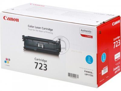 �������� Canon 723 C Cyan /���������� - ������� (2643B002)
