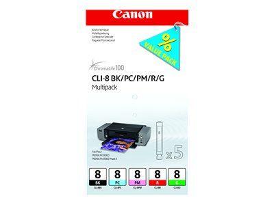 Расходный материал Canon ij cartridge CLI-8 multipack 0620B027