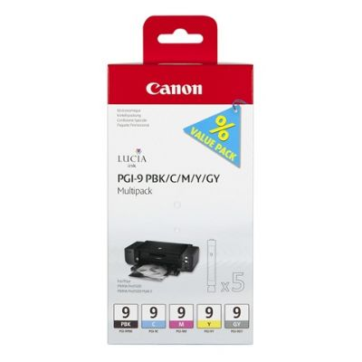 Расходный материал Canon ij cartridge PGI-9 pbk multipack 1034B011