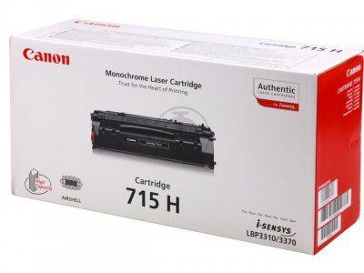Картридж Canon 715H Black/Черный (1976B002)