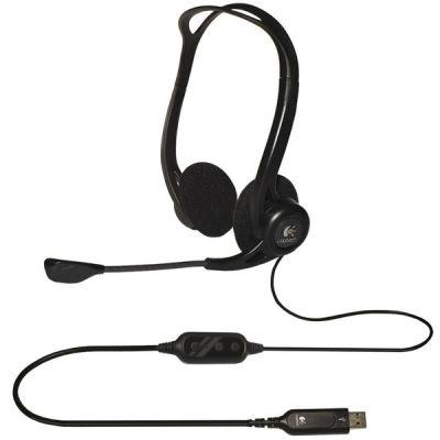 Наушники с микрофоном Logitech PC 960 981-000100