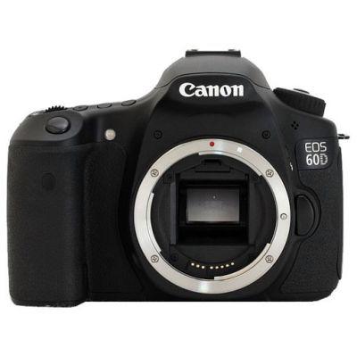 Зеркальный фотоаппарат Canon eos 60D Body (ГТ Canon) [4460B007]