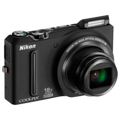 Зеркальный фотоаппарат Nikon coolpix S9100 Black (ГТ Nikon)