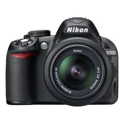Зеркальный фотоаппарат Nikon D3100 kit 18-55 vr [VBA280K001]