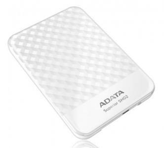 """Внешний жесткий диск ADATA 2.5"""" 1Tb. Белый ASH02-1TU-CWH"""