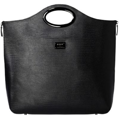 "Сумка ASUS Leather Cosmo Carry Bag 12"" Black 90-XB2R00BA00010-"