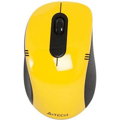 Мышь беспроводная A4Tech G9-630-4 USB Yellow
