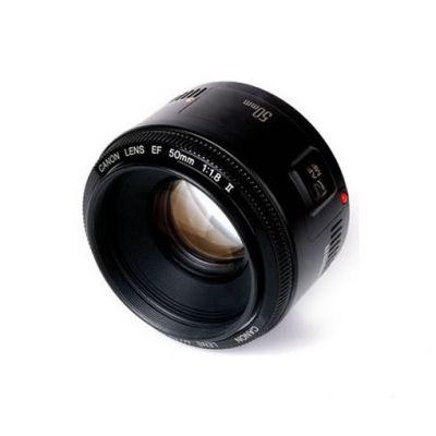 Объектив для фотоаппарата Canon ef 50 f/1.8 II Canon ef [2514A011]