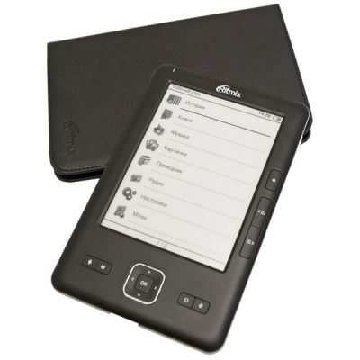 Электронная книга Ritmix RBK-700 Black