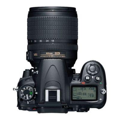 Зеркальный фотоаппарат Nikon D7000 Kit 18-105 mm vr [VBA290K001]