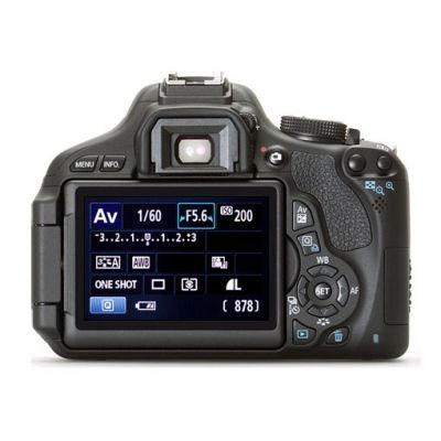 Зеркальный фотоаппарат Canon eos 600D Kit EF-S 18-55 is (ГТ Canon)