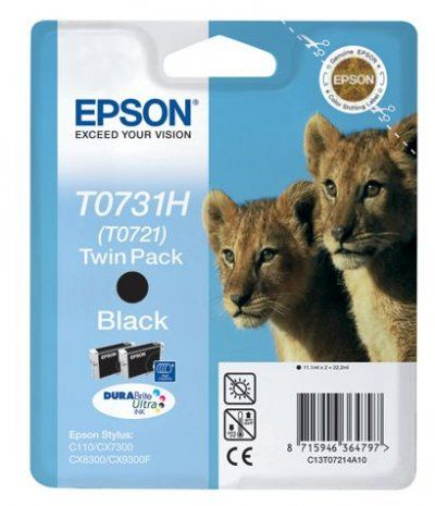 Картридж Epson Black/Черный (C13T10414A10)