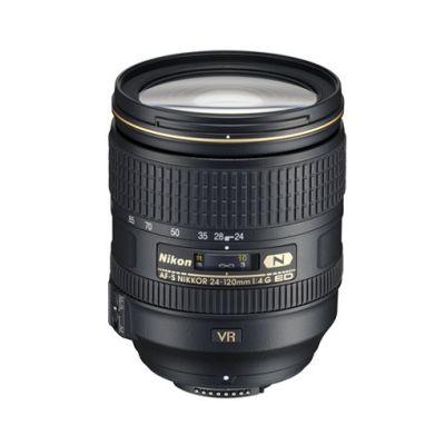 Объектив для фотоаппарата Nikon 24-120mm F/4G ed vr AF-S Nikkor Nikon F JAA811DA